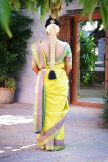 South Indian Bridal Hairstyles 09