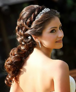 indian bridal hairstyles 97