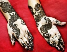 Simple mehendi designs 15