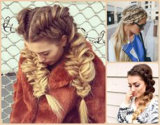 French braid hairstyles 01