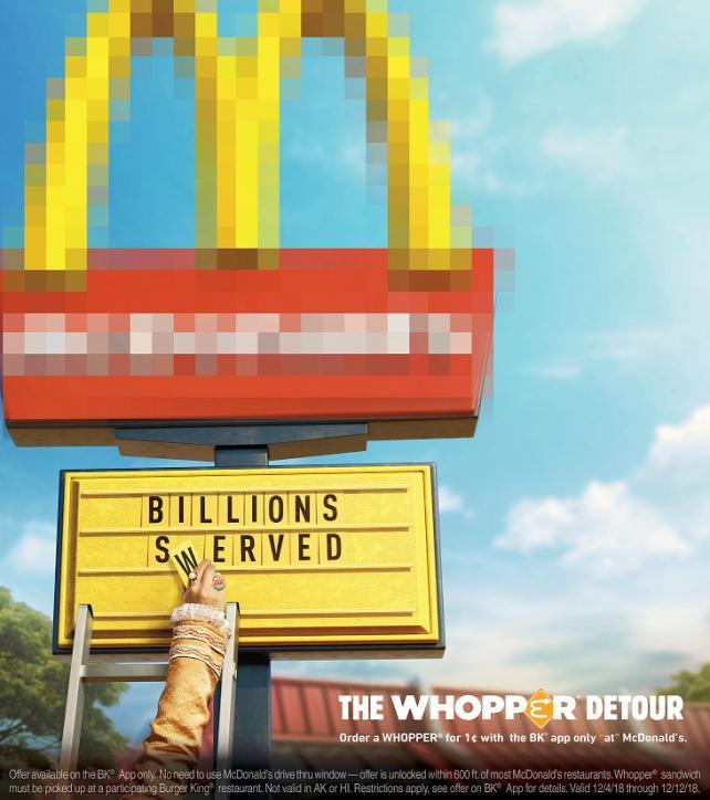 Burger King Whopper Detour