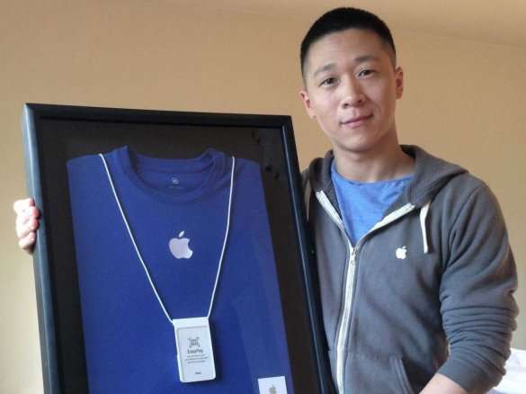 samsung apple. sam sung employee apple