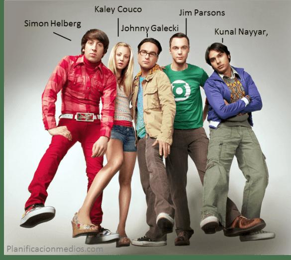 Actores Big Band Theory