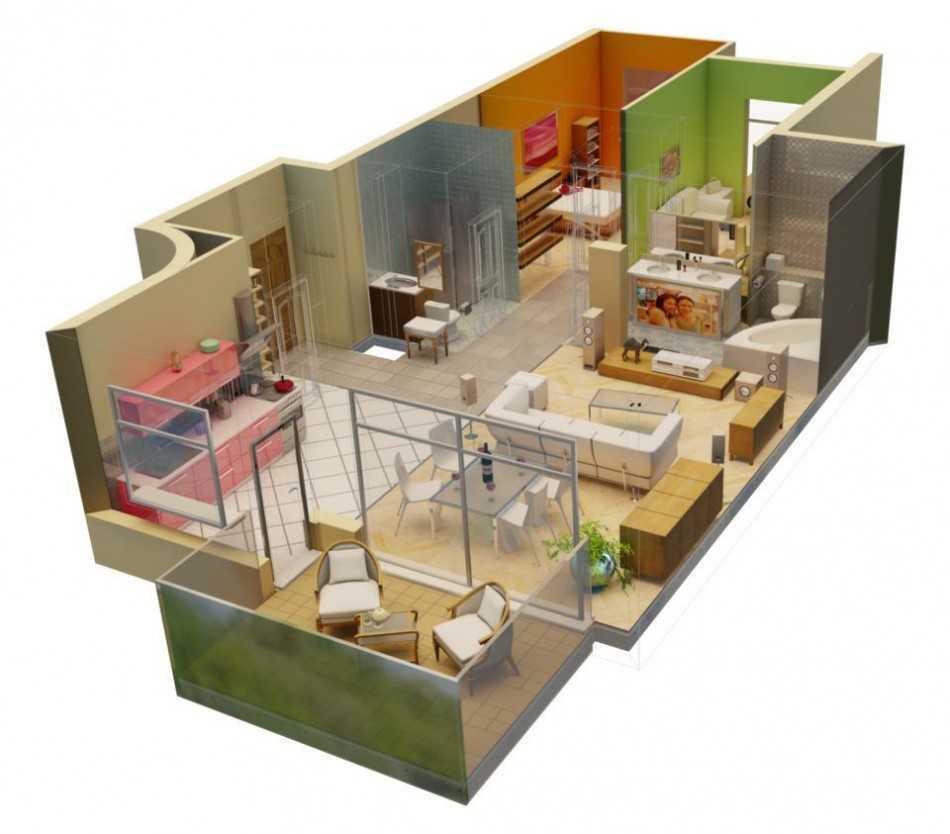 технический дизайн квартиры 2