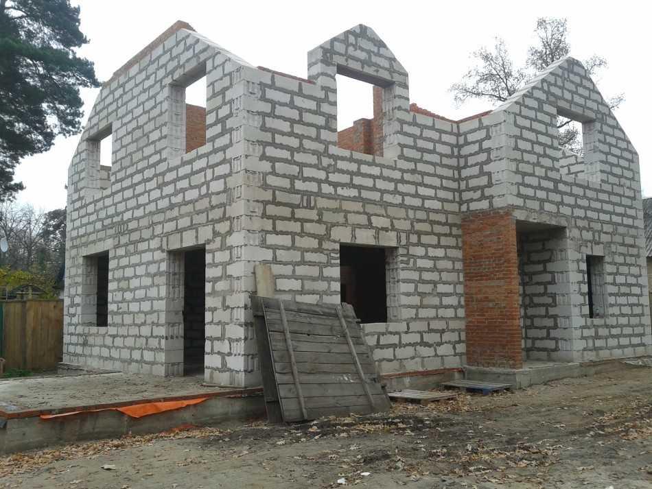 калькулятор строительства дома из газобетона под ключ