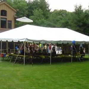 20' X 40' Celina Frame Canopy Tent
