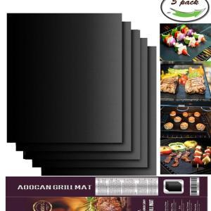 Aoocan BBQ Grill Mat Set of 5