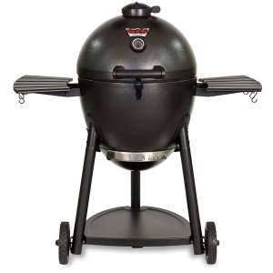 Char-Griller Akorn Kamado Kooker Charcoal Grill Smoker Combo
