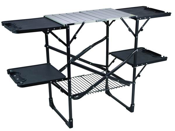 Outdoor Slim Fold Cook Station Table