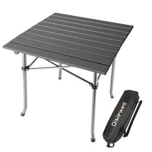 Qisiewell Compact Portable Camp Table