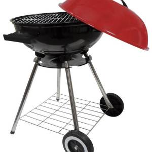Round 18 Inch Kettle Charcoal Barbecue Grill