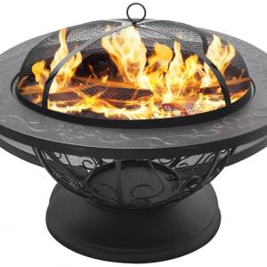 "Sorbus 30"" Outdoor Large Fire Pit"
