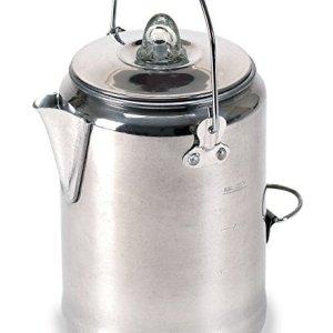 Stansport Aluminum Percolator 9 Cup Coffee Pot