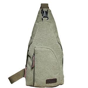Tobey Men's Upgraded Canvas Backpack Sling