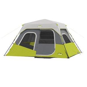 CORE 6 Person 11' x 9' Instant Cabin Tent