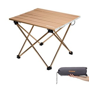 KingCamp Aluminum Folding Camping Table with Carry Bag