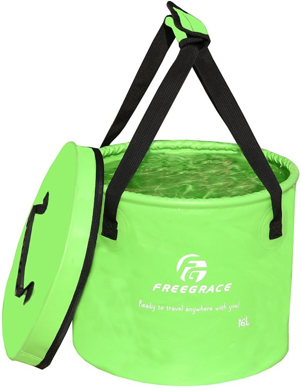 Premium Compact Collapsible Water Bucket