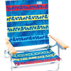 Rio Brands 5 Position Classic Beach Chair