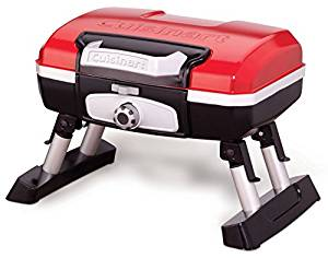 Cuisinart CGG-180T Petit Gourmet Red Portable Tabletop Gas Grill