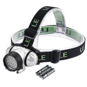 LE 4 Mode LED Battery Powered Headlamp