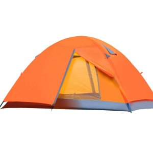 CCTRO Double Layer Waterproof 3 Season 2-Person Backpacking Tent