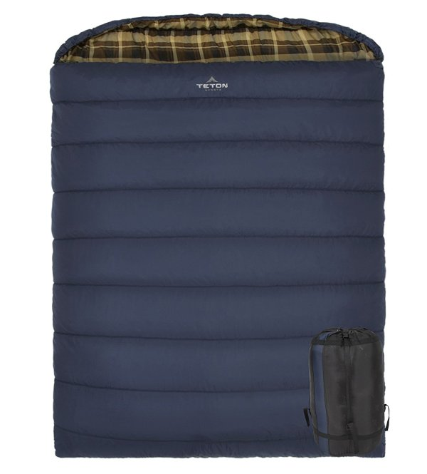 TETON Sports Mammoth Cold Weather Double Sleeping Bag