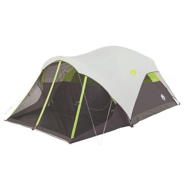 Coleman Steel Creek Fast Pitch Screen Room Camping Dome Tent