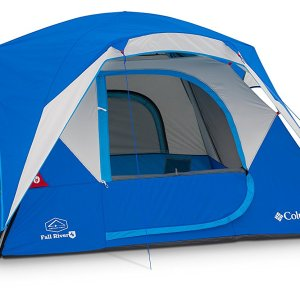 Columbia Fall River 4 Person Camping Dome Tent
