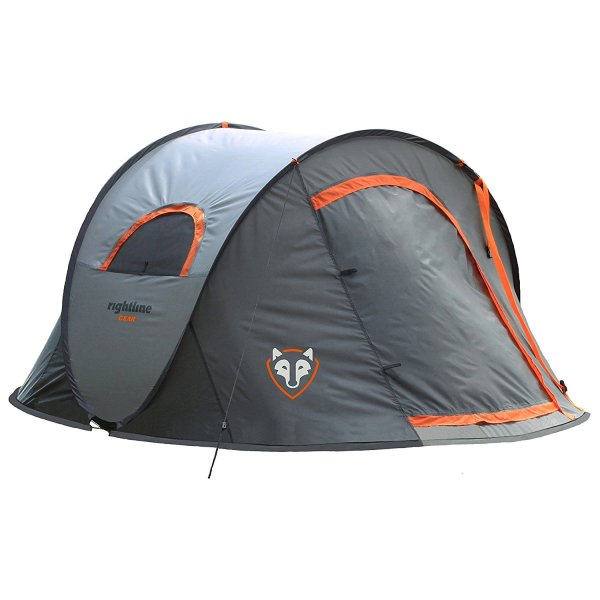 Rightline Gear 2 Person Pop Up Camping Tent
