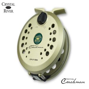 Crystal River Royal Coachman Lightweight Fly Reel