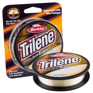 Berkley Trilene TransOptic Color Changing Fishing Line