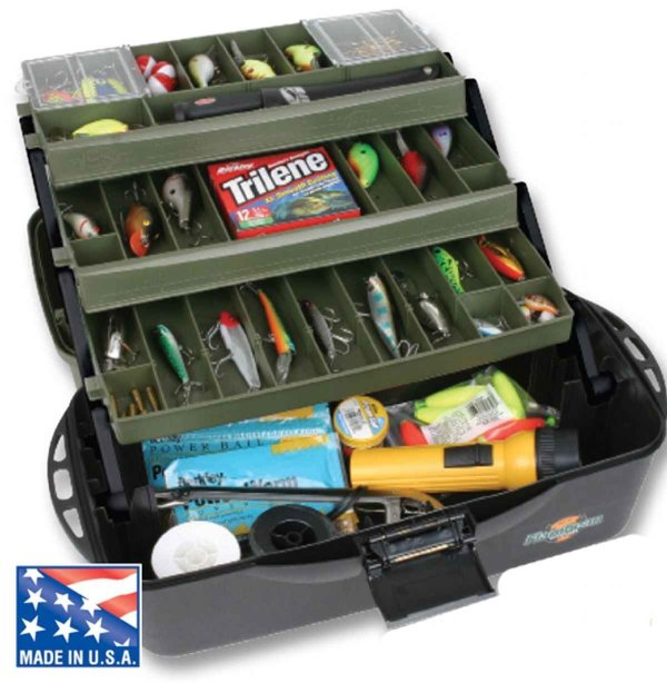 Flambeau 3 Tray Fishing Tackle Box