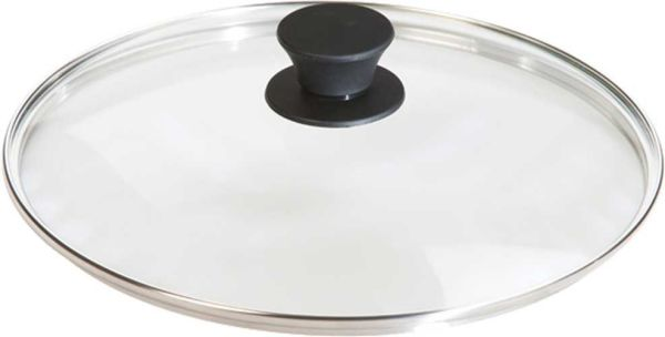 "Lodge 10.25"" Tempered Glass Camp Cookware Lid"