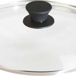 """Lodge 10.25"""" Tempered Glass Camp Cookware Lid"""