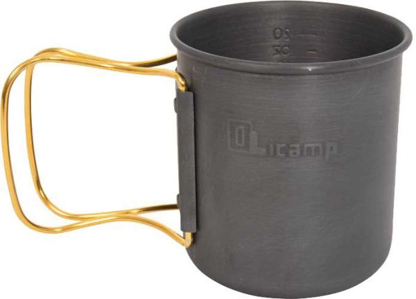 Olicamp Space Saver Gold Camping Mug