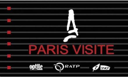 Tarjetas y billetes de transporte publico de Paris