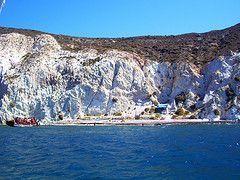Visitar Santorini Playa Blanca
