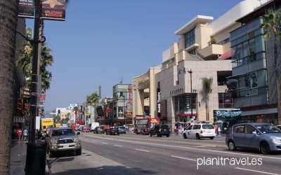Hollywood Boulevard Los Angeles