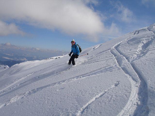 Esquiar en San Valentin