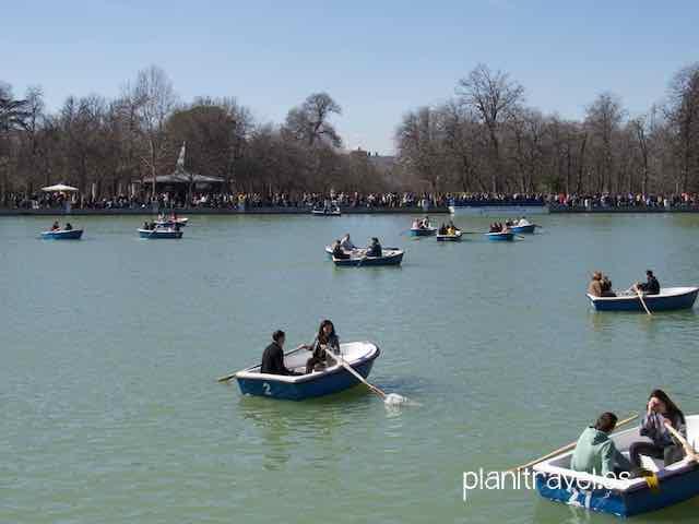 Parque del Retiro de Madrid 3