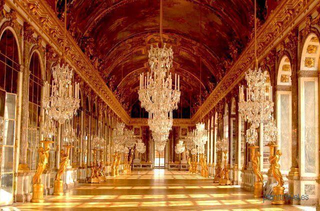 Salón de los Espejos Versalles