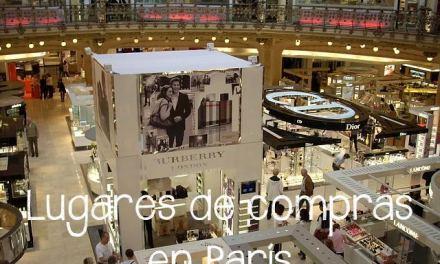 Lugares de compras en París