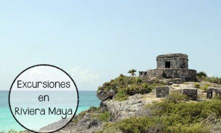 Las mejores excursiones en Riviera Maya