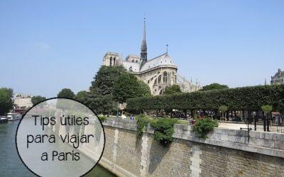 5 Cosas que necesitas para viajar a París en 2018