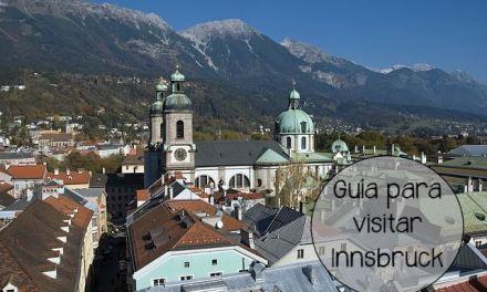Guía para visitar y disfrutar Innsbruck