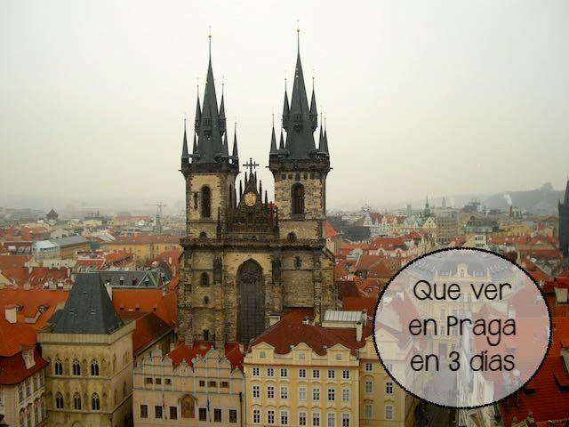 Praga en tres días