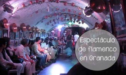 Auténtico espectáculo de flamenco en las cuevas del Sacromonte Granada
