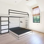 Planning And Designing A Built In Bunk Bed Plank And Pillow