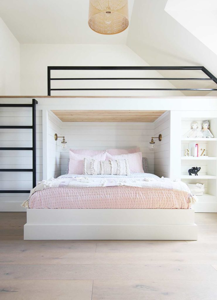 How To Build A Built In Bunk Bed Plank And Pillow