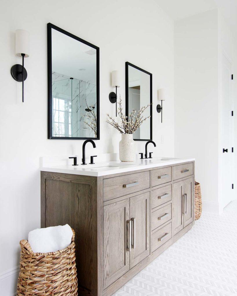 choosing a bathroom faucet finish